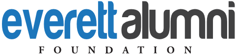 Everett Alumni Foundation Retina Logo